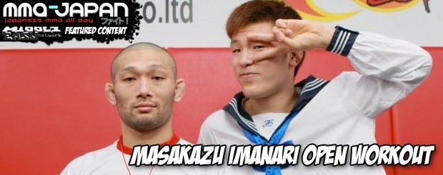 Masakazu Imanari open workout