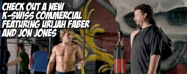 Check out a new K-Swiss commercial featuring Urijah Faber and Jon Jones