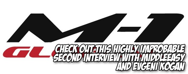 Check out this highly improbable second interview with MiddleEasy and Evgeni Kogan