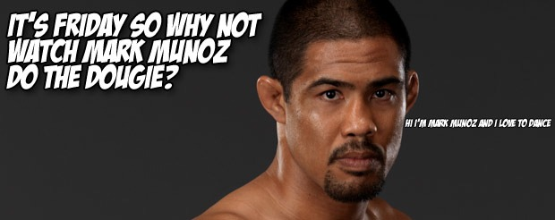 It's Friday, so why not watch Mark Munoz do the Dougie?