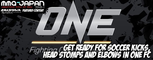 Get ready for SOCCER KICKS, HEAD STOMPS and elbows in ONE FC