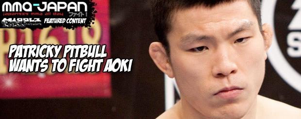 Patricky Pitbull wants to fight Aoki