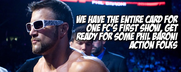 Phil Baroni took off his sunglasses at ONE FC and soccer kicked his way to victory!