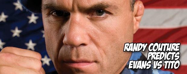 Randy Couture predicts Rashad vs Tito