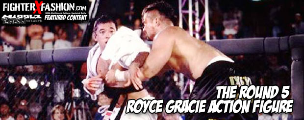 The Round 5 Royce Gracie action figure