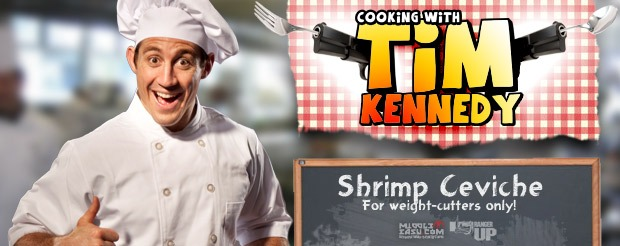 Cooking with Tim Kennedy: Shrimp Ceviche