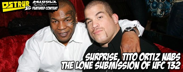 Surprise, Tito Ortiz nabs the lone submission of UFC 132