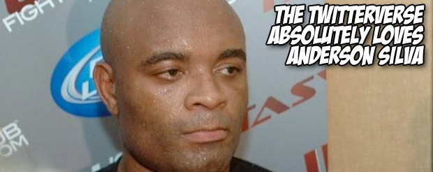 The Twitterverse absolutely loves Anderson Silva