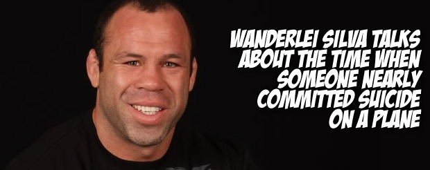 Wanderlei Silva talks about the time when someone nearly committed suicide on a plane