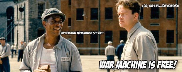 War Machine is free!