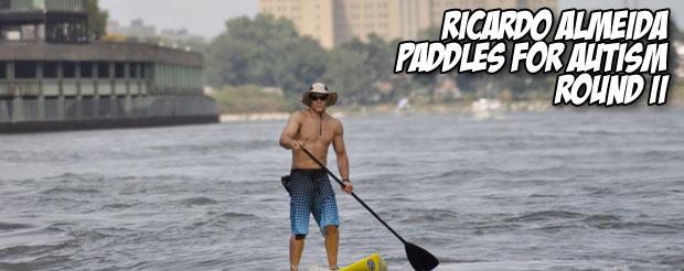 Ricardo Almeida paddles for autism round II
