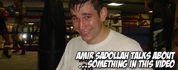 Amir Sadollah talks about…something in this video