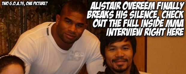Alistair Overeem FINALLY breaks his silence, check out the full Inside MMA interview right here