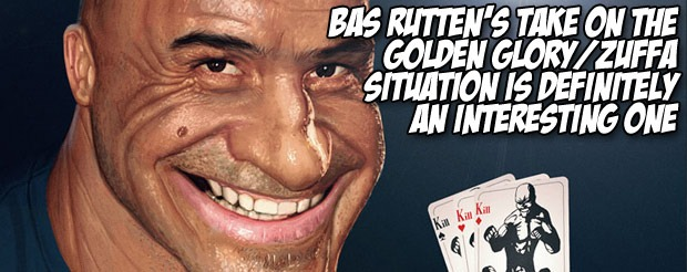 Bas Rutten's take on the Golden Glory/ZUFFA situation is definitely an interesting on