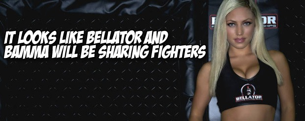 It looks like Bellator and BAMMA will be sharing fighters