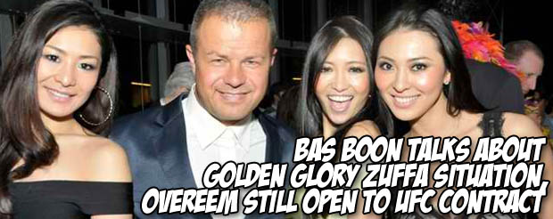 Bas Boon talks about Golden Glory Zuffa situation, says Overeem still open to UFC contract