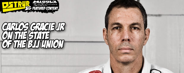 Carlos Gracie jr on the state of the BJJ union