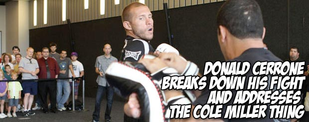 Cowboy Cerrone breaks down his fight and addresses the Cole Miller thing