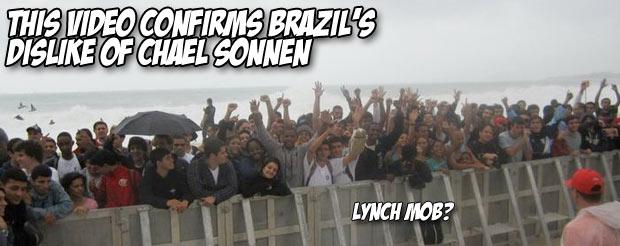 This video confirms Brazil's dislike of Chael Sonnen