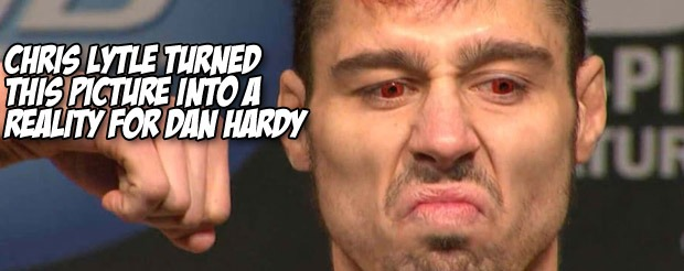 Chris Lytle turned this picture into a reality for Dan Hardy