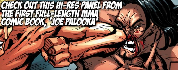 Check out this hi-res panel from the first full-length MMA comic book, 'Joe Palooka'