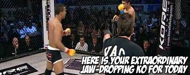 Here is your extraordinary jaw-dropping KO for today