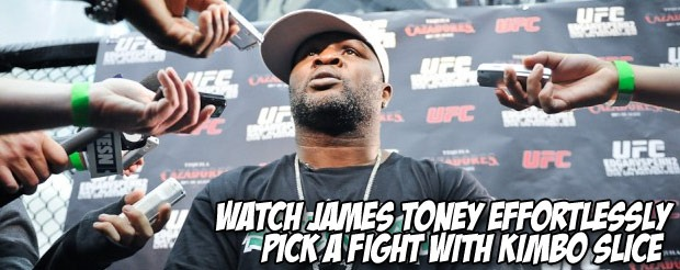 James Toney says he is the highest paid fighter in UFC history and calls Rampage a slave