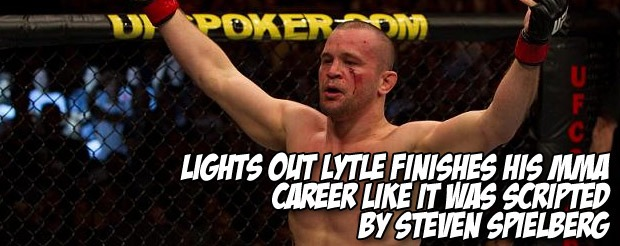 Lights Out Lytle finishes his MMA career like it was scripted by Steven Spielberg