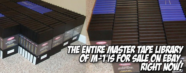 The entire master tape library of M-1 is for sale on eBay, RIGHT NOW!