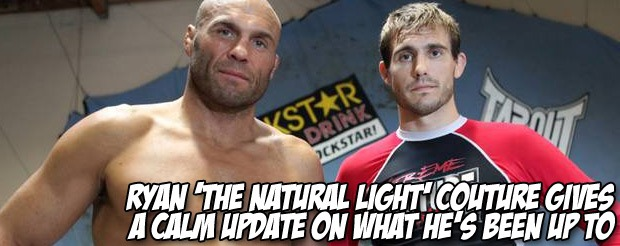 Ryan 'The Natural Light' Couture gives a calm update on what he's been up to