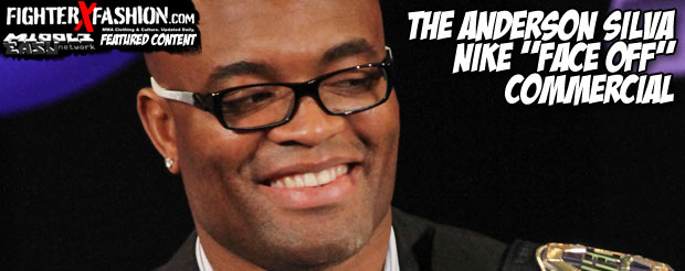 """The Anderson Silva Nike """"Face Off"""" commercial"""