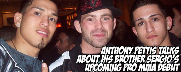Anthony Pettis talks about his brother Sergio's upcoming pro MMA debut