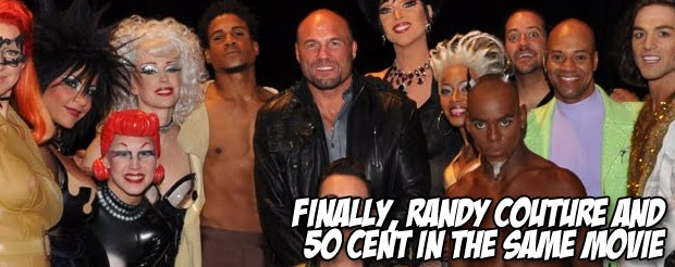 Finally, Randy Couture and 50 Cent in the same movie