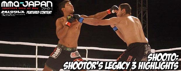 Shooto: Shootor's Legacy 3 highlights