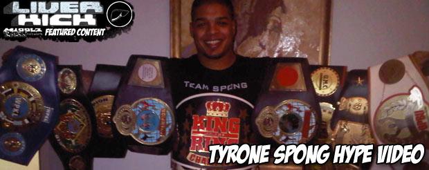 Tyrone Spong hype video