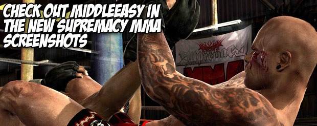 Check out MiddleEasy in the new Supremacy MMA screenshots