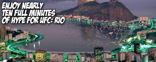 Enjoy nearly ten full minutes of hype for UFC: Rio