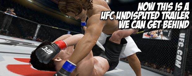 Now this is a UFC Undisputed trailer we can get behind