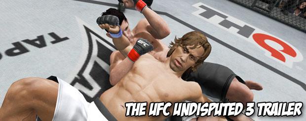 The UFC Undisputed 3 trailer