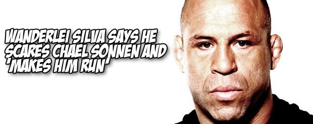 Wanderlei Silva says he scares Chael Sonnen and 'makes him run'