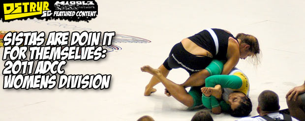 Sistas are doin it for themselves: 2011 ADCC Womens Division
