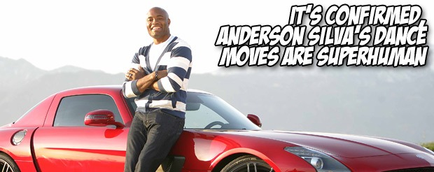 It's confirmed, Anderson Silva's dance moves are superhuman