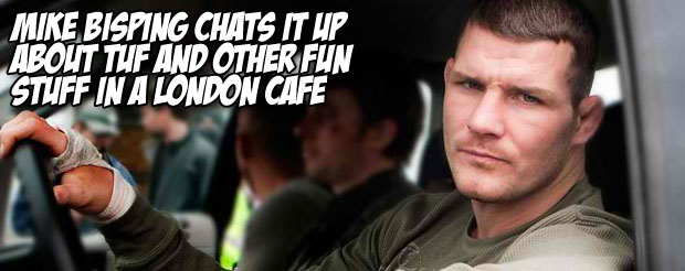 Mike Bisping chats it up about TUF and other fun stuff in a London cafe