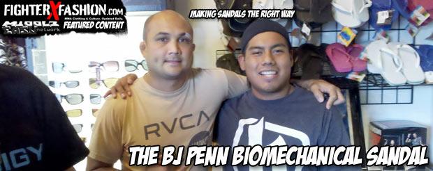 The BJ Penn biomechanical sandal