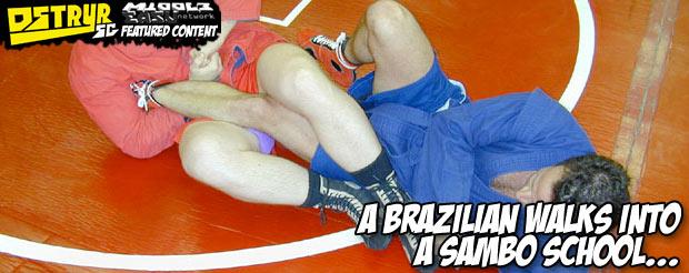 A Brazilian walks into a Sambo school
