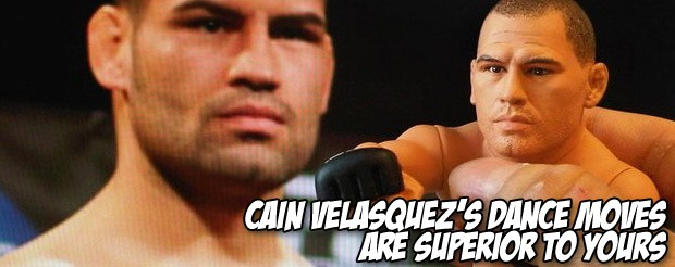 Cain Velasquez's dance moves are superior to yours