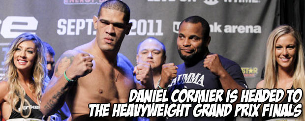 Daniel Cormier is headed to the Heavyweight Grand Prix finals