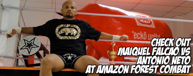 Check out Maiquel Falcao vs Antonio Neto at Amazon Forest Combat