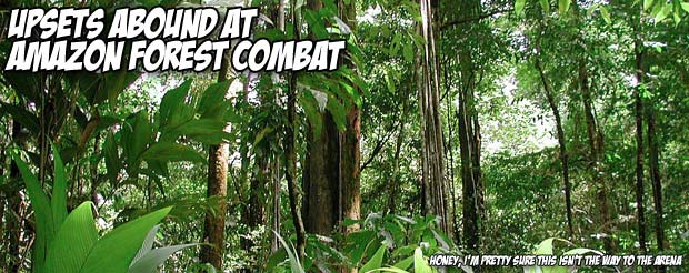 Upsets abound at Amazon Forest Combat