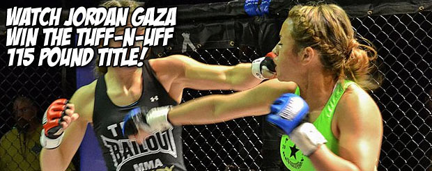 Watch Jordan Gaza win the Tuff-N-Uff 115 pound title!
